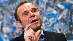 Das war es mit seiner zweiten Amtszeit als HSV-Boss: Bernd Hoffmann muss gehen