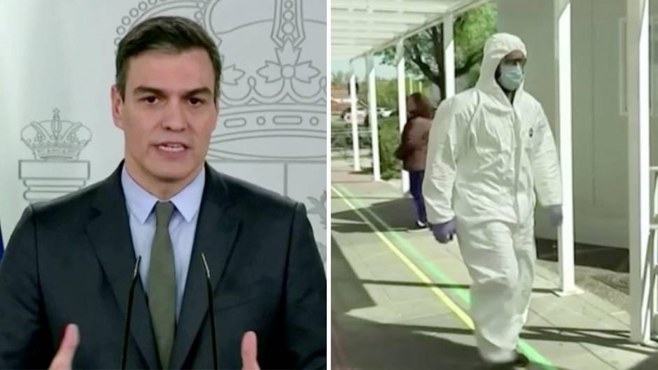 Coronavirus: Spanien schränkt Bewegungsfreiheit weiter ein