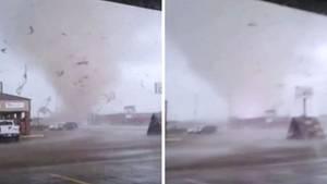 Tornado mischt Arkansas auf