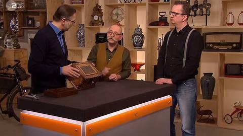 """""""Bares für Rares"""": """"1617 – das ist maximal die Uhrzeit"""" – Experte lacht über Jahresangabe auf antiker Holzkiste"""