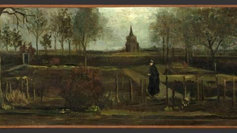 """Museum Singer Laren: Museum wegen Corona geschlossen: Einbrecher klauen den """"Frühlingsgarten"""" von van Gogh"""