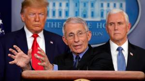 Trump und Anthony Fauci