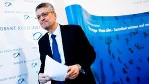 Lothar H. Wieler, Präsident des Robert Koch-Instituts, informiert über die aktuellen Corona-Entwicklungen