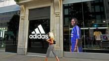 Adidas-Geschäft in Großbritannien