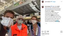 Peer Kusmagk und Janni Hönscheid sind zurück in Deutschland