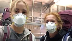Maria und Diana sitzen in Auckland fest und berichten von ihrer Rückholaktion nach Deutschland