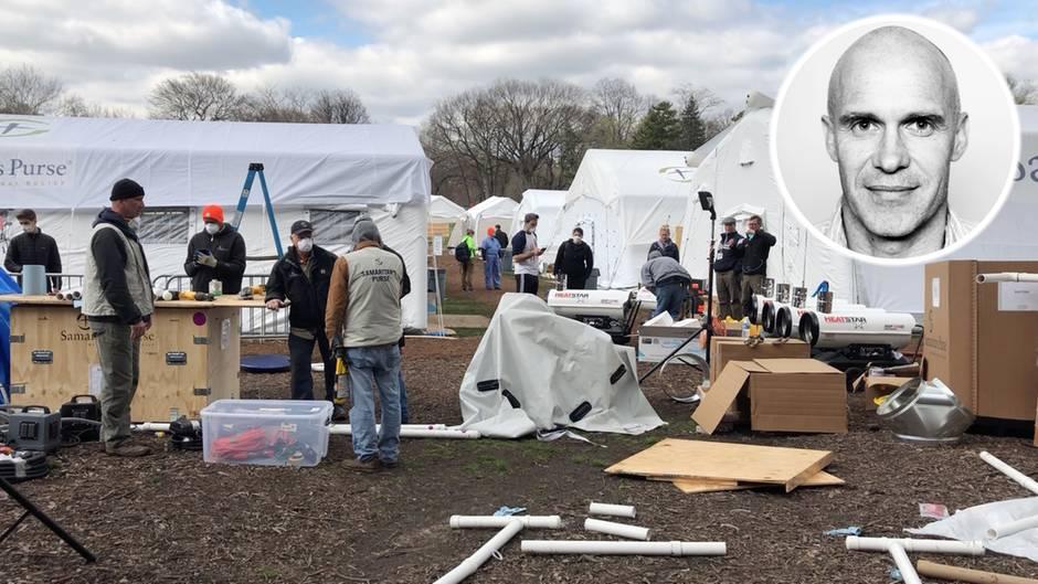 Epizentrum der Krise: Central Park wird zum Feldlazarett: stern-Reporter berichtet über die Corona-Krise in New York