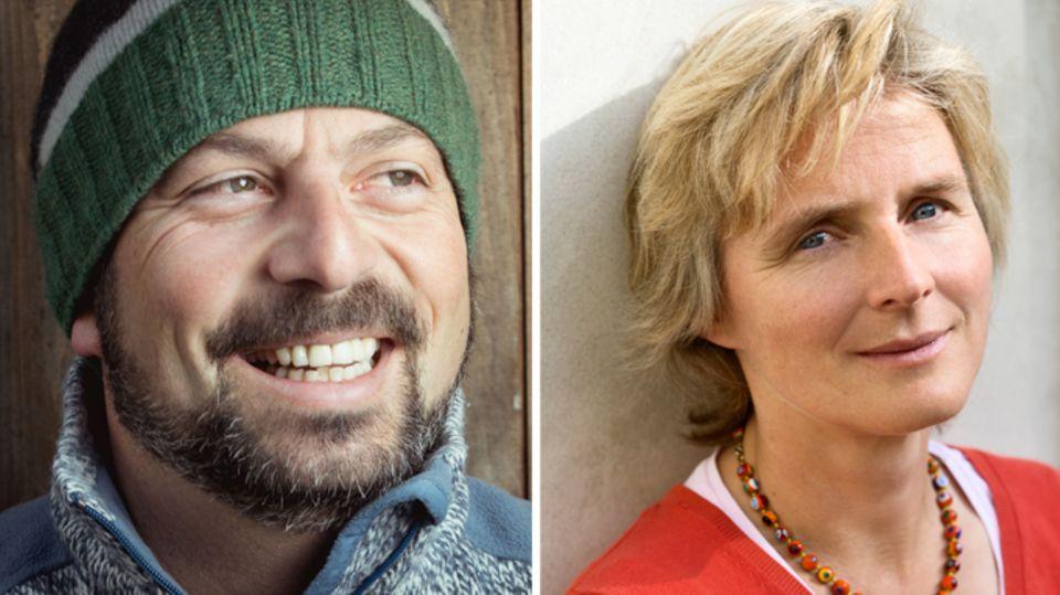 Josef Sözbir undMelanie Wolfers sind Teil des mehr als 30-köpfigen stern-Expertenteams
