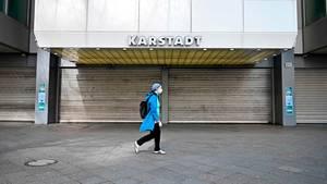 Geschlossene Karstadt-Filiale in Berlin