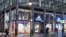 Ein Store von Adidas