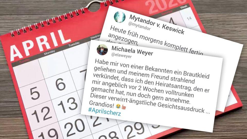 Aprilscherze: Twitter-Nutzer teilen ihre besten Streiche