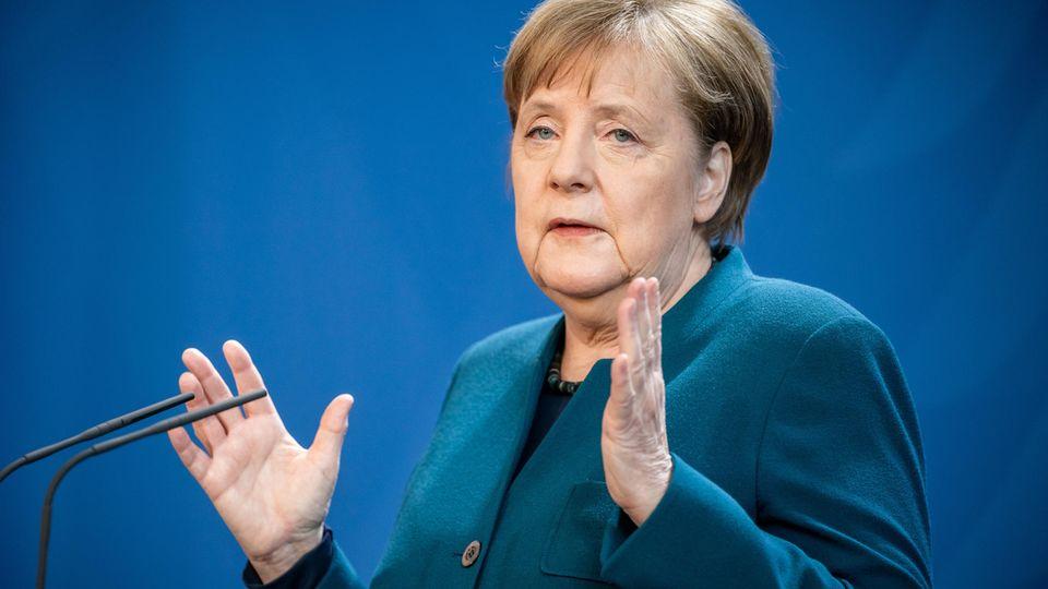 Audio-Statement von Angela Merkel am 1. April 2020