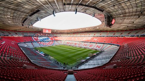 Das Bild ist im Moment traurige Realität: Die Allianz Arena in München bleibt derzeit ungenutzt