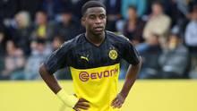 Megatalent Yousoufa Moukoko ist erst 15 Jahre alt, ab November darf er in der Bundesliga spielen