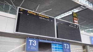 Der Stuttgarter Flughafen wird wegen der Corona-Krise ab Montag für gut zwei Wochen geschlossen.