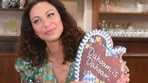 Lilly Becker übt den bairischen Dialekt
