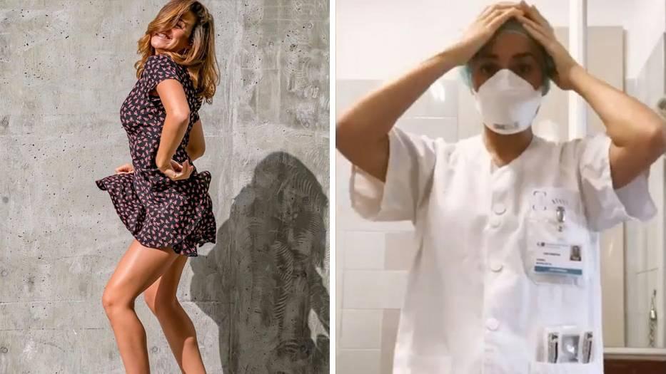Influencerin Gemma Marin hat sich entschieden, wieder als Krankenschwester zu arbeiten