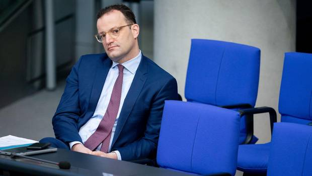 Bundesgesundheitsminister Jens Spahn im Bundestag.