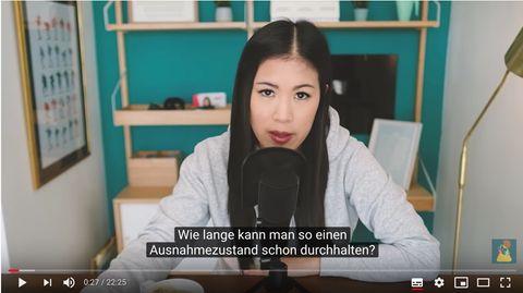 """Video von Mai Thi Nguyen-Kim: Wie lange dauert die Krise? Youtuberin erklärt: """"Corona geht gerade erst los"""""""