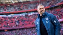 Hansi Flick als Trainer von Bayern München