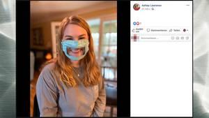 Ashley Lawrence hat Masken für gehörlose Menschen entwickelt
