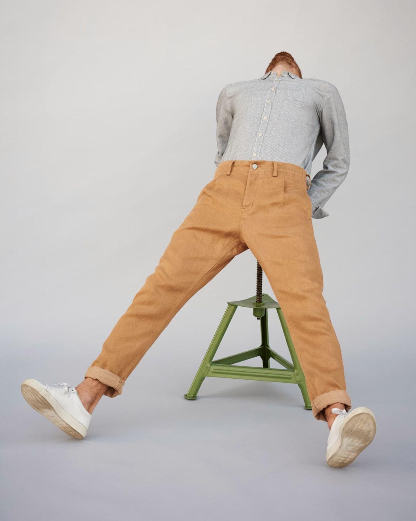 Nachhaltig produzierte Hose von FREITAG