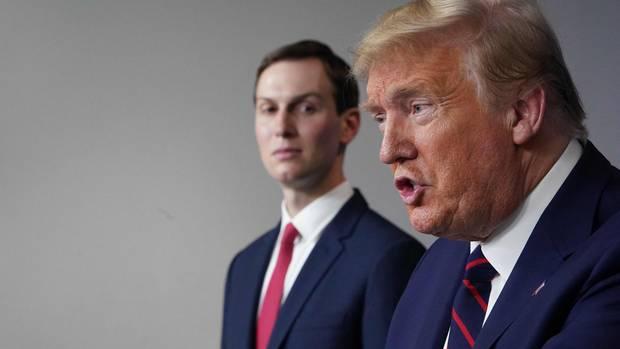 Präsidenten-Schwiegersohn Jared Kusher wurde von Donald Trump mit der Corona-Antwort beauftragt