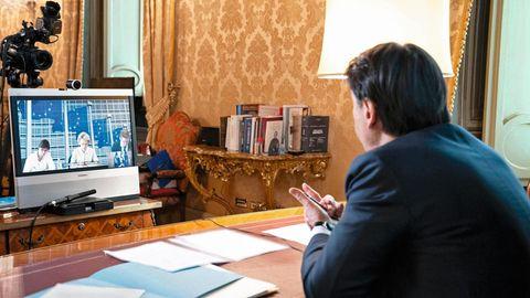Italiens Premier Giuseppe Conte