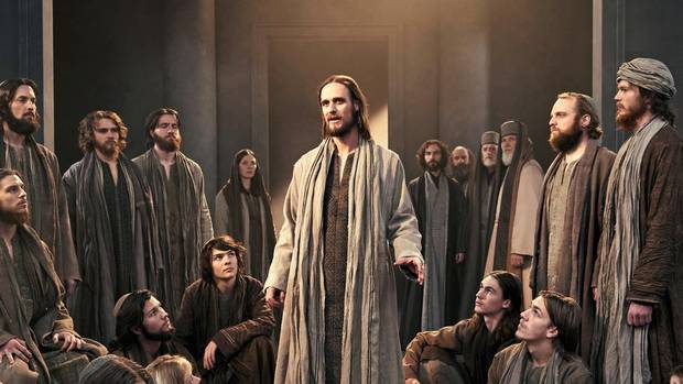 Frederik Mayet als Jesus