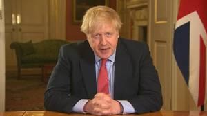 Coronavirus: Großbritanniens Premier Boris Johnson (Archivbild)