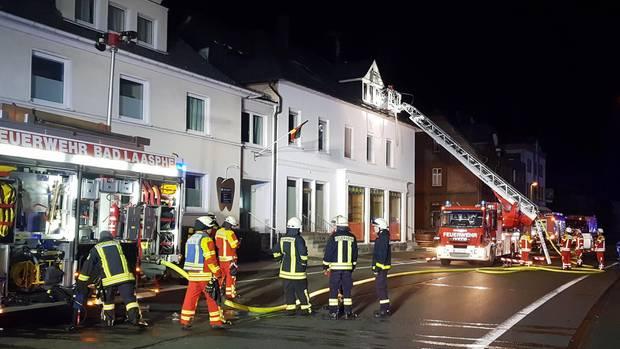 Nachrichten aus Deutschland: In Bad Laasphe brannte ein Wohnhaus