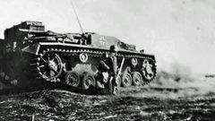 Das Stug III war sehr flach, ein großer Vorteil im Vergleich zum Jagdpanzer Marder.