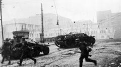 Stug III in den Kämpfen um Charkow.