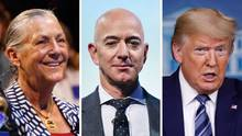 """Alice Walton, Jeff Bezos und Donald Trump sind in der """"Forbes""""-Liste vertreten"""