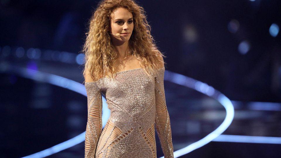 """Simone Kowalski im Finale von """"Germany's Next Topmodel"""""""