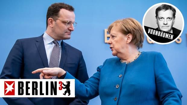 Bundesgesundheitsminister Jens Spahn (CDU) und Bundeskanzlerin Angela Merkel (CDU)