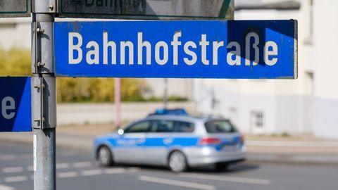 Celle: Polizei am Tatort