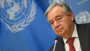 UN-GeneralsekretärAntonio Guterres