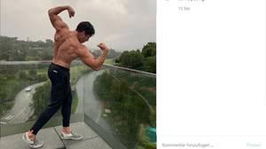 Vip-News: Arnold Schwarzeneggers Sohn Joseph Baena macht ihm Konkurrenz