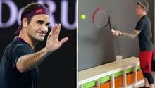Roger Federer fordert 35 Weltstars zur #TennisAtHomeChallenge heraus