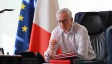 Frankreichs Finanzminister Bruno Le Maire hat die Einigung auf Corona-Finanzhilfen bestätigt