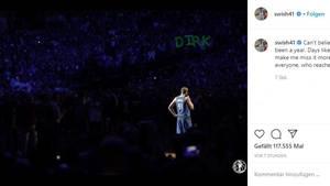 Vip News: Dirk Nowitzki bei seinem letzten Heimspiel
