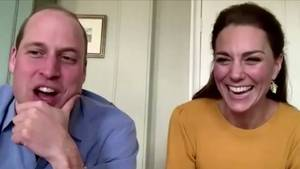 Corona-Krise: Kate und William im royalen Videochat