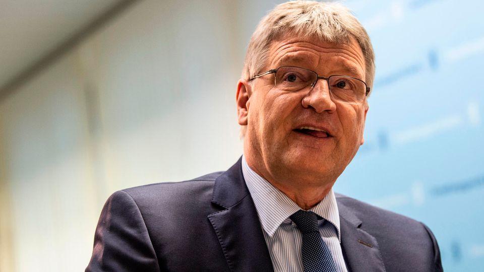 Der AfD-Vorsitzende Jörg Meuthen