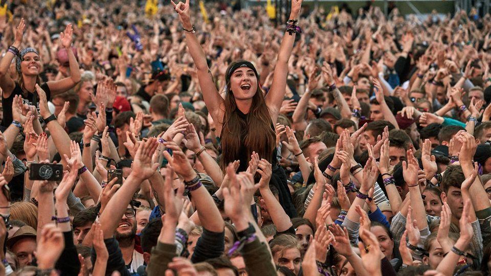 Abstand halten - auf einem Großfestival wie Rock am Ring undenkbar.