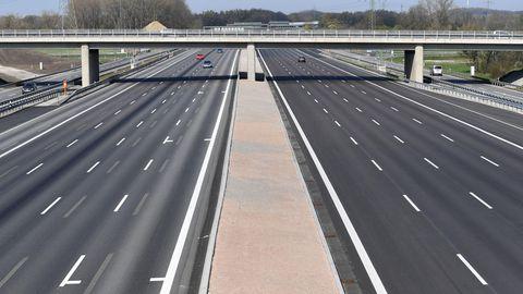 Solch leere Straßen sind normalerweise kaum vorstellbar, in der Corona-Krise gehören sie zur Normalität.