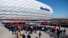 Auch der Spielort München mit der Allianz Arena steht auf dem Prüfstand