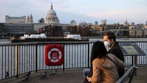 In Großbritannien sind mittlerweile mehr als 10.000 Menschen gestorben