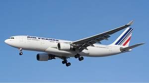 Ein Airbus A330-200 von Air France. Eine Maschine diesen Typs war am Samstag nachPointe-Noire im Kongo geflogen.