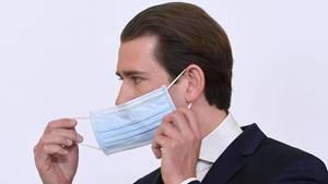 Österreichs Bundeskanzler Sebastian Kurz (ÖVP)